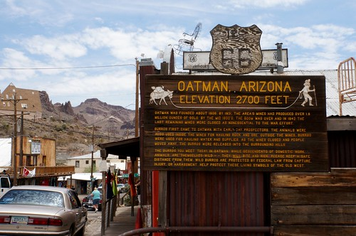 Route 66 - Oatman, Arizona | by RoadTripMemories
