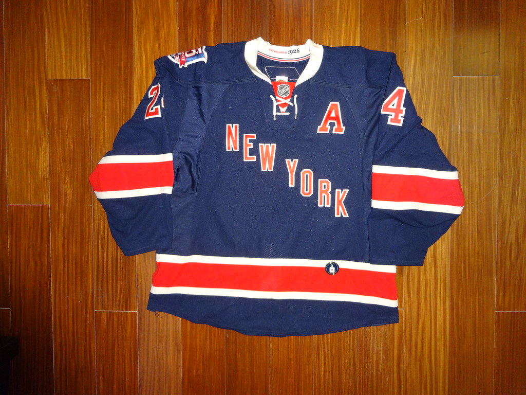 brand new c0f0c c819e Game Worn Reebok Edge 2.0 Ryan Callahan New York Rangers 2 ...