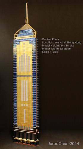 Central Plaza, Hong Kong (1:265)