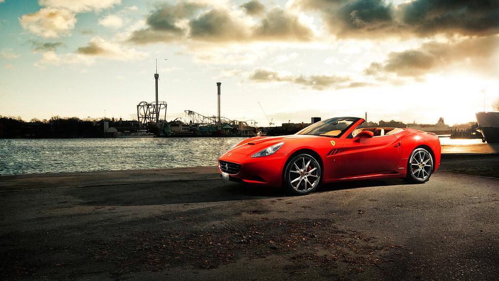 California Ferrari Car Stylish Hd Wallpapers Download Ca Flickr