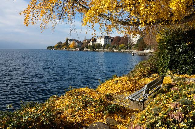 lac Léman, Montreux (Suisse)