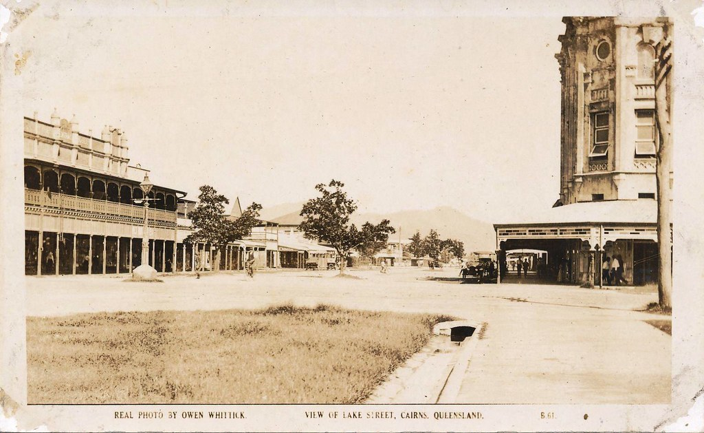 Lake Street, Cairns - early 1900s