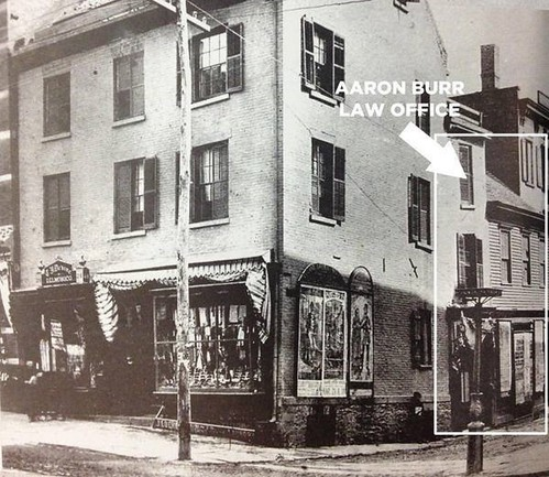 norton and south pearl  late 1800s location of Aaron Burr Law Office  albany ny | by albany group archive