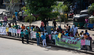 Colombo. International Day Of The Deaf.
