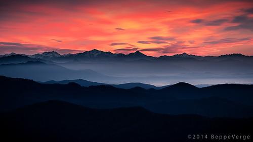sunrise alba mordor saurus valsesia borgosesia reddawn tovo beppeverge