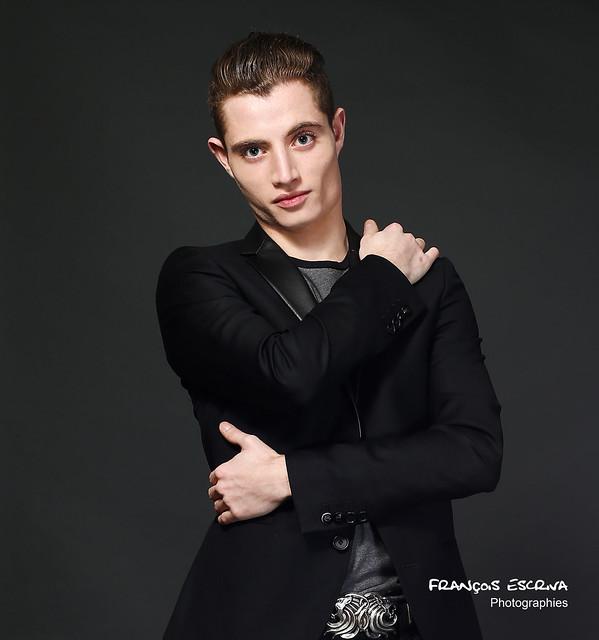 Tom in black