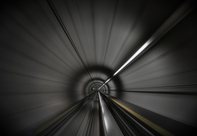 Zooming along in the tunnel of hope