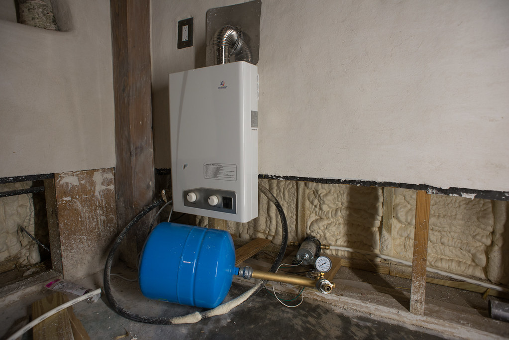 off grid water heater