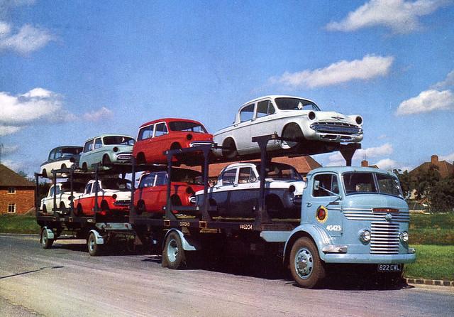 Commer Car Body Transporter 822 CWL from 1959