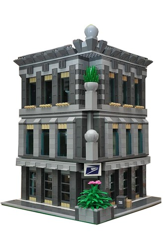 lego post office | by tehLEGOman