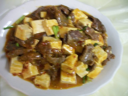 B36 Tofu with Beef | by Golden Gate Chinese Restaurant