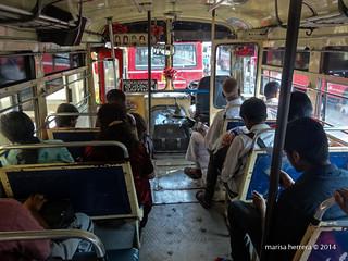 Bus de Jaffna a Point Pedro.