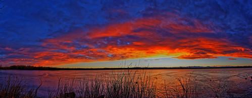 sunset panorama usa colorado dxo cherrycreekstatepark defished canon5dmkiii ef15mmf28diagonalfisheye 01172015 sunsetpanoram01172015dxosrgb