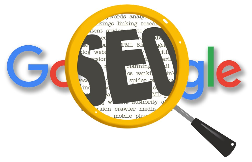 Google SEO Magnifying Glass | Google SEO Magnifying Glass Wh… | Flickr