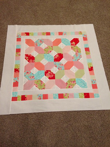 Baby quilt   by thirteen quilts