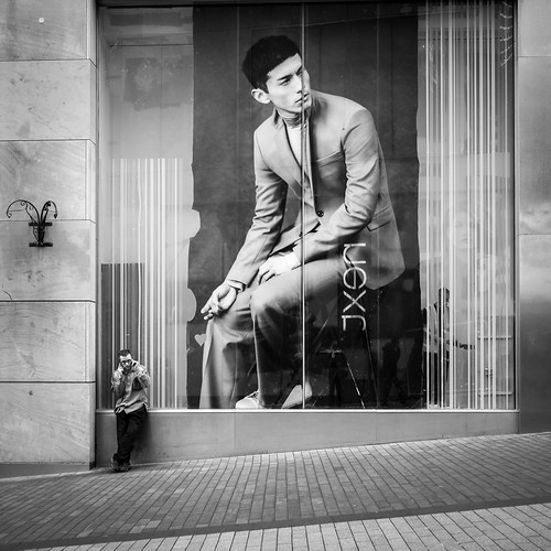 Giant in a glass cage | by Street Photography candid