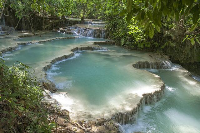 Kuangxi Waterfall | Luang Prabang, Laos