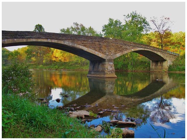 Historic Arch Bridge in Armstrong County Pennsylvania
