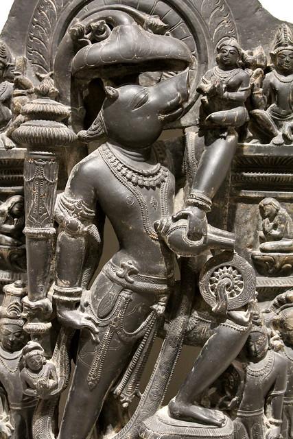 Vishnu in his Boar incarnation
