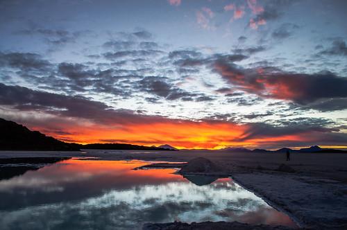 sunset sky atardecer dusk cielo uyuni saltflat 日出 salardeuyuni tahua