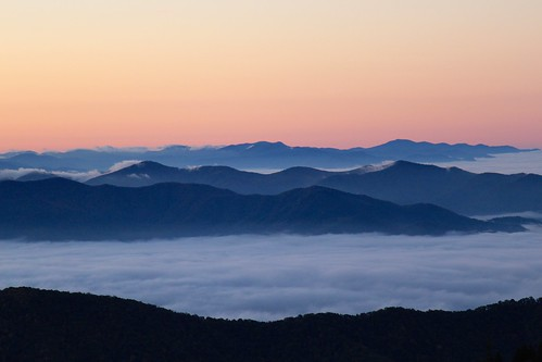 Fog and Layers of Mountains | by daveynin
