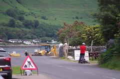 Lochranza road