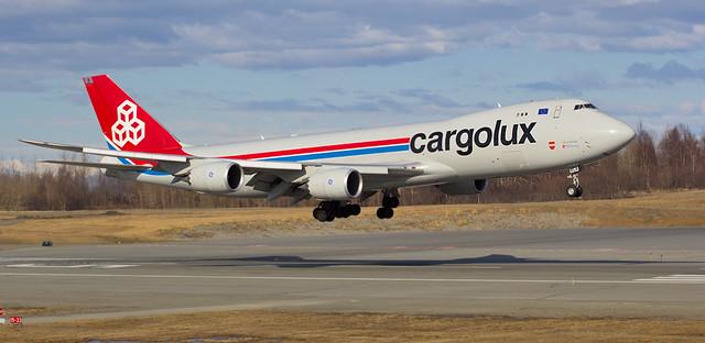 Cargolux LX-VCA 20 Apr 14 CLX 451 VHHH PANC
