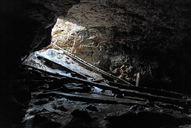 Duck Creek Ice Cave
