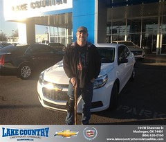 #HappyBirthday to Marvin Lykins from Dj Collins at Lake Country Chevrolet Cadillac!