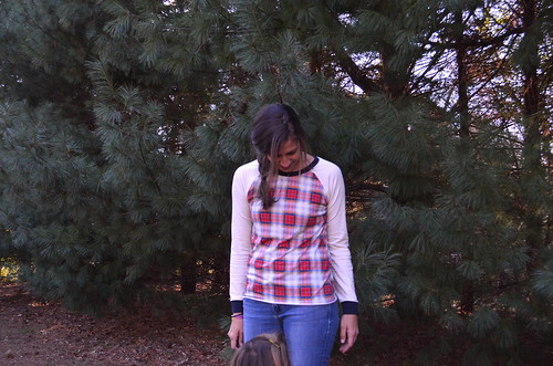 Plaid Raglan | by hungie gungie