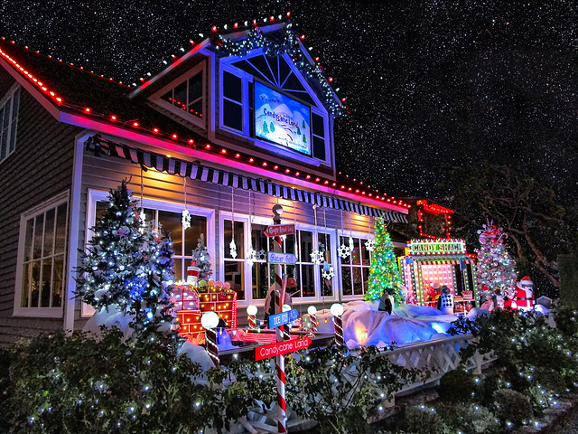 A Decorated Christmas/Holiday House