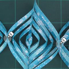 วิธีทำดาวกระดาษรุปเกล็ดหิมะ สำหรับแต่งบ้าน ช่วงเทศกาลต่างๆ (Paper Snowflake DIY) 015