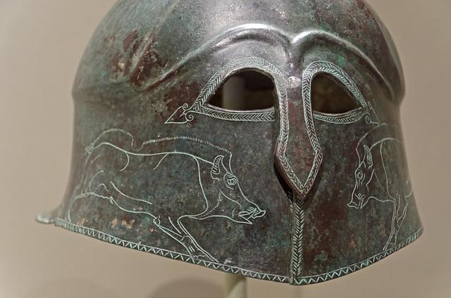 Bronze 'Apulo-Corinthian'- type helmet in Cleveland 5