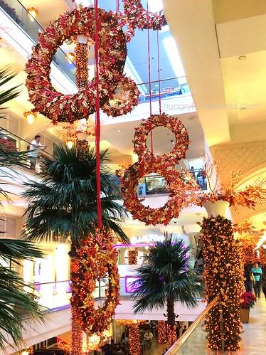 Festive Holiday Decor at Powerplant   by hungryfortheworld