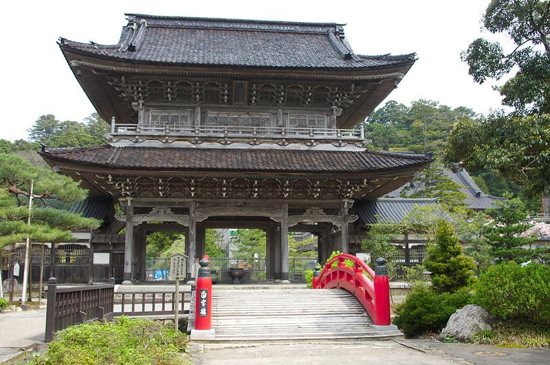 Entrée du temple Sojiji