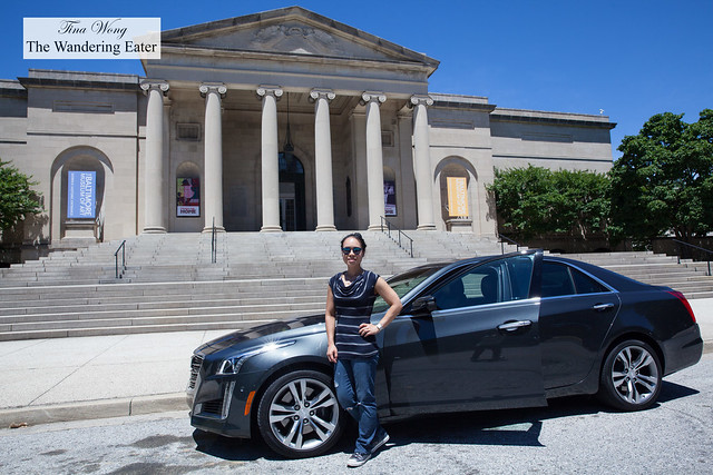 2016 Cadillac CT6 and Baltimore Museum of Art