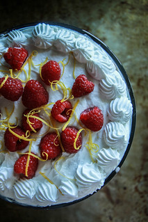 Rapberry lemon Trifle- Vegan and Gluten Free from HeatherChristo.com | by Heather Christo