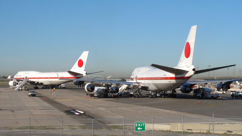 UN Week 2016: 20-1101 & 20-1102   Boeing 747-47C   Japan Government (JASDF)
