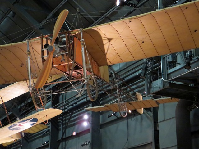 Bleriot XI National Museum of the USAF Wright-Patterson AFB 30 November 2015