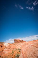 Desert with sky