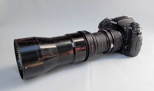 Nikon D300 with Rokuoh Sha TeleHexar 40cm  (ex SK-100) sn # 3661 nº 4