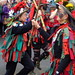 Foxs Morris at The Lock Inn, Wolverley on Boxing Day 2014