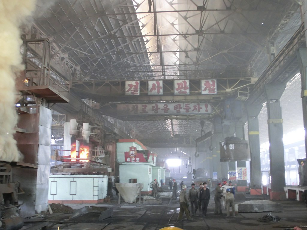 Chollima Steel Works Factory