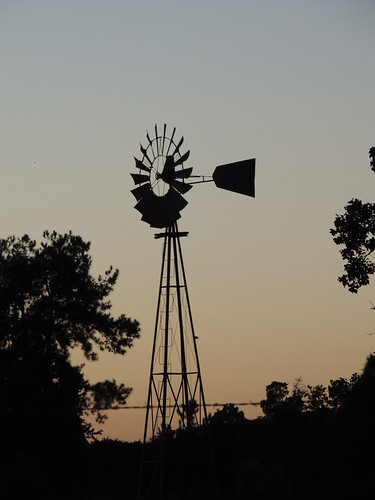 sunset windmill texas