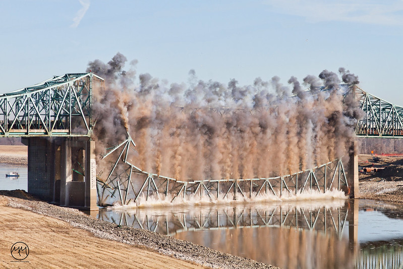 06 Chain of Rocks Bridge Demolition