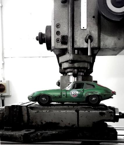 Jaguar E type rusty (15)   by www.MODELCARWORKSHOP.nl