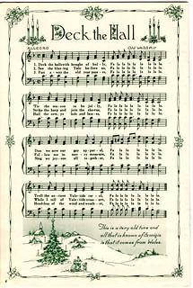 Deck the Halls - Christmas Sheet Music | Small Home Big Start | Flickr