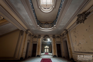 Derelict, Chateau Lumiere - Entrance Hall   by DugieUK