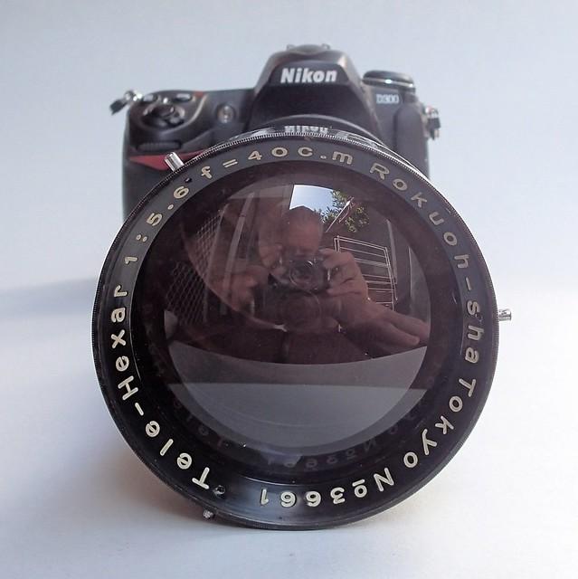Nikon D300 with Rokuoh Sha TeleHexar 40cm  (ex SK-100) sn # 3661 nº 8