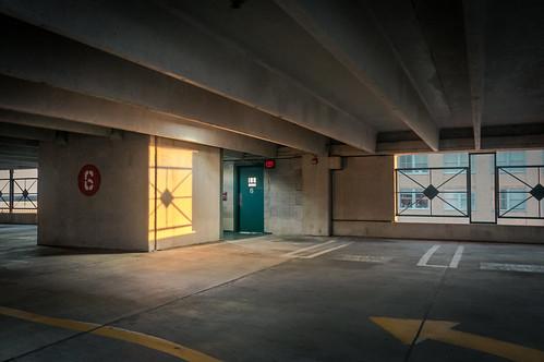 sunrise parkinggarage garage parking negative six
